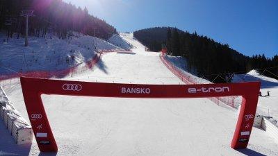Олимпийските шампионки на пистата в Банско