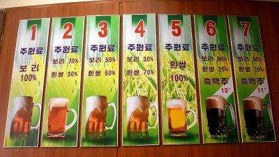 Бирата в Северна Корея е само с купони