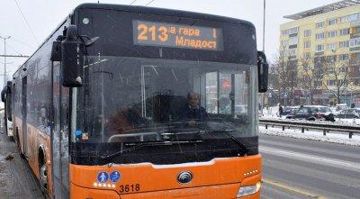 Газ изтича в столицата, промениха маршрутите на автобусите по линии 11, 404 и 213