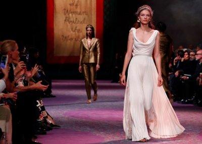"""""""Dior"""" блесна в Париж със злато"""