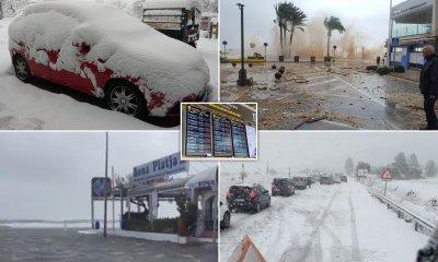 Лошо време в Испания взе най-малко 3 жертви