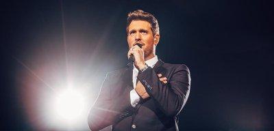 Майкъл Бубле пее благотворително за Австралия