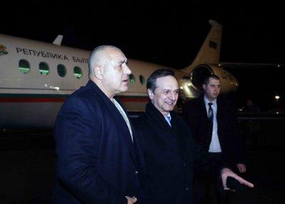 Бойко Борисов пристигна в Швейцария