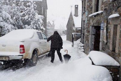 Зимна буря взе четири жертви в Испания