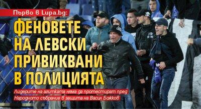 Първо в Lupa.bg: Феновете на Левски привиквани в полицията
