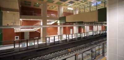 """Ето я метростанцията """"Орлов мост"""" (първи снимки)"""