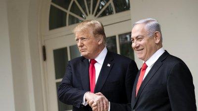 Тръмп се среща с Нетаняху за Близкия изток