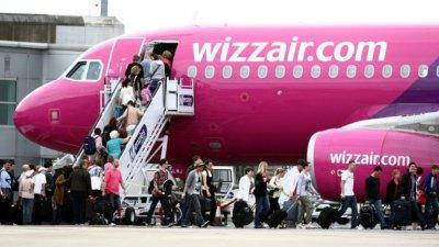 """""""Уиз еър"""" пусна 2 нови самолетни линии"""
