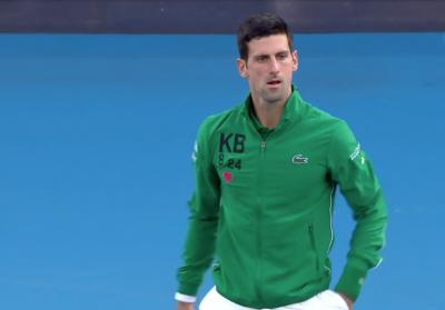 Джокович се появи с анцуг в памет на Коби, ще играе срещу Федерер за 50-ти път