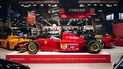 Пускат в продажба първия болид на Шумахер във Ферари, цената се пази в тайна
