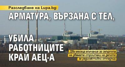 Разследване на Lupa.bg: Арматура, вързана с тел, убила работниците край АЕЦ-а
