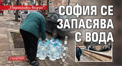"""Пернишки вирус"": София се запасява с вода (ГАЛЕРИЯ)"