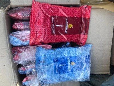 240 кг тютюн за наргиле без документи на Дунав мост 2