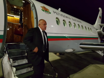 """Фалконът на Бойко пак се счупи, премиерът лети с """"Ербъс"""" за Брюксел"""