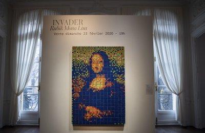 Продадоха за €480 000 Мона Лиза, направена от 300 Кубчета на Рубик