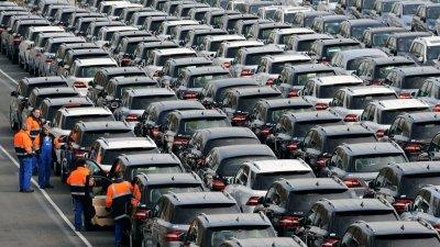 Спад на продажбите на нови коли в ЕС през януари