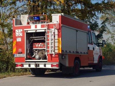 Пожар избухна в Стамболийски, има загинал