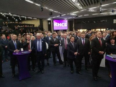 Борисов и Радев заедно на рождения ден на КНСБ