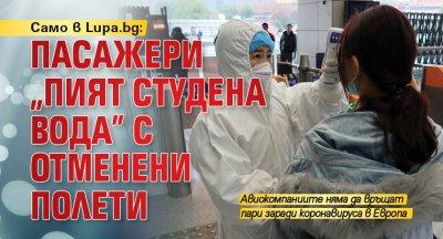 """Само в Lupa.bg: Пасажери """"пият студена вода"""" с отменени полети"""