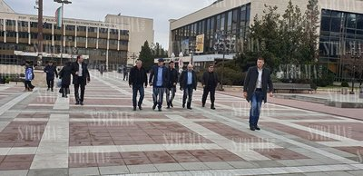 Главният прокурор и главсекът на МВР пристигнаха в Благоевград