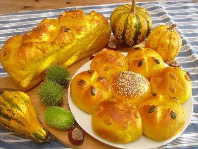 Тиквени хлебчета с мед