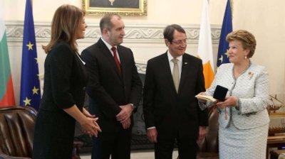 Президентът на Кипър пристига за среща с премиера и президента