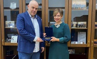 Иван Гешев се срещна с посланика на Турция