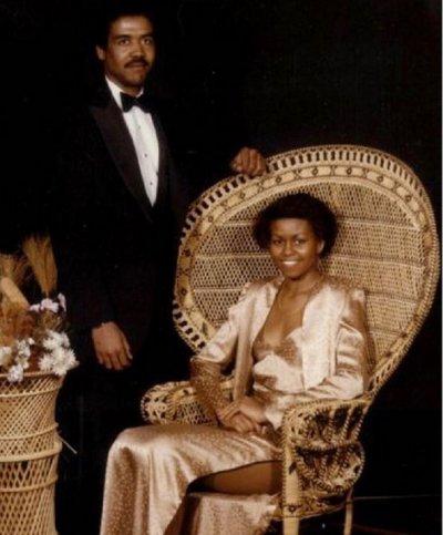 Мишел Обама пусна снимка от абитуриентския си бал