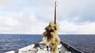 """Русия успешно тества хиперзвукова ракета """"Циркон"""""""