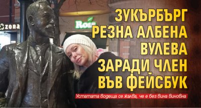 Зукърбърг резна Албена Вулева заради член във фейсбук