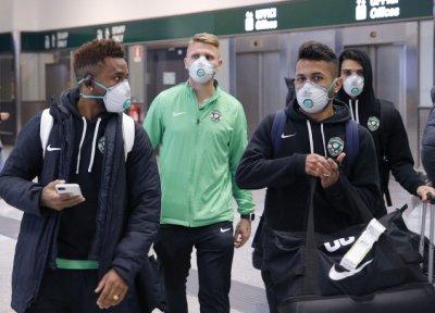 Тестваха Лудогорец за коронавирус, играчите гледат Милано през прозореца