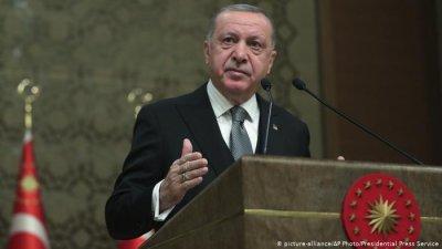 Ердоган ще говори с Борисов, Тръмп, Меркел и Макрон за Сирия