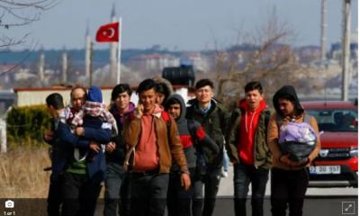 Спря напрежението на границата, целта на мигрантите била Гърция
