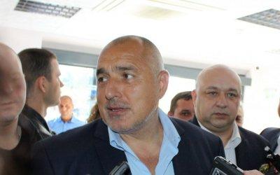 """Борисов се срещна и с ръководството на """"Ботев"""""""