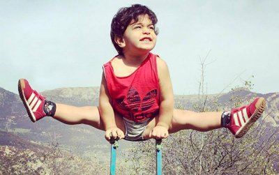 3-годишен Спайдърмен живее в Иран