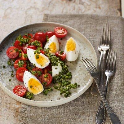 4 свежи комбинации с великденски яйца
