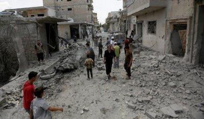 Руски самолети бомбардираха Сирия, погубиха 10 живота