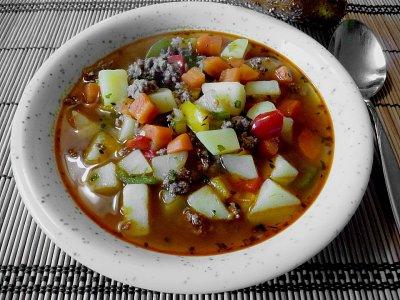 Сръбска картофена супа