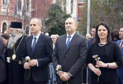 Президентът Румен Радев се е загрижил за културата