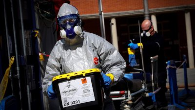 Испания с нов рекорд на жертвите - 838 души за 24 часа