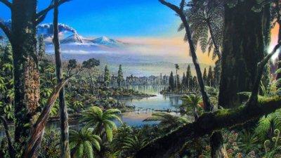 Антарктида е била топла гора, пълна с динозаври