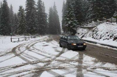 4 април: Сняг затрупа прохода Рожен