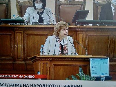 Менда Стоянова: Нима ГЕРБ докара вируса в парламента?