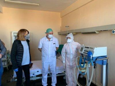 Фандъкова: Още три болници откриват отделения за коронавирус