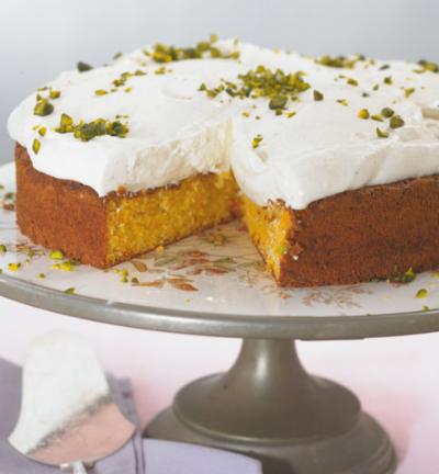Морковена торта с ядки