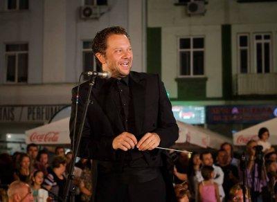 Концерт край фонтана с маестро Мартин Пантелеев (ВИДЕО)