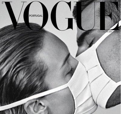 Модните списания съпричастни с мъката по света