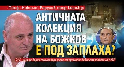 Проф. Николай Радулов пред Lupa.bg: Античната колекция на Божков е под заплаха?