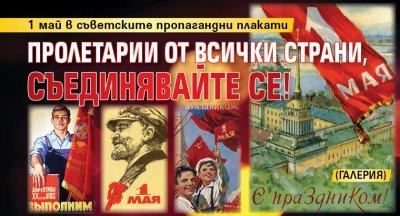 Пролетарии от всички страни, съединявайте се! (ГАЛЕРИЯ)