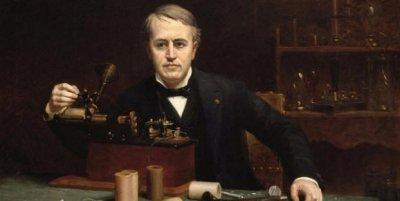 Томас Едисън изобретил апарат за говорене с духове